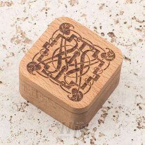 Шкатулка из дерева бук
