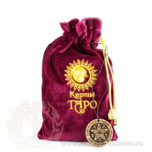 Золотое Таро Висконти + амулет в подарок!