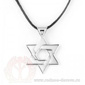 Звезда давида из серебра